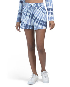 Tie Dye Shorts With Pockets