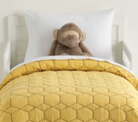 Pottery Barn west elm x PBK Honeycomb Toddler Quil