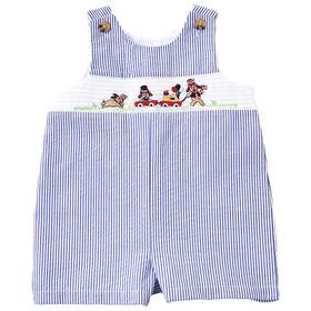 Baby Boy (12-24M) Good Lad July 4th Smocked Overal