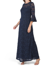 All Over Lace Gown