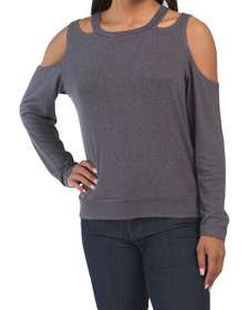 The Cold Shoulder Sweater