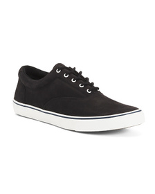 Men's Leather Casual Sneakers With Extended Size