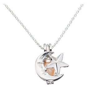 Wish Pearl Sterling Silver Necklace Gift Set - Sky