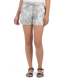 Pull On Printed Shorts