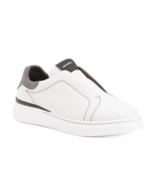 Men's Made In Portugal Tumbled Leather Laceless Sn