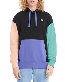 PUMA - Downtown Cotton French Terry Color Blocked