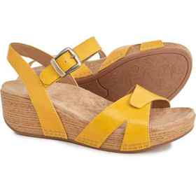 Dansko Laurie Wedge Sandals - Leather (For Women)