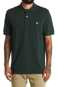 BROOKS BROTHERS Short Sleeve Pique Polo Shirt
