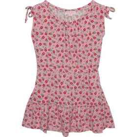 Poof Ditsy Floral Dress - Sleeveless (For Big Girl