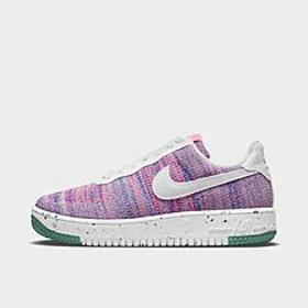 Women's Nike Air Force 1 Crater Flyknit Casual Sho