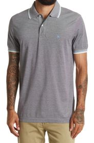 BROOKS BROTHERS Tipped Pique Slim Fit Polo