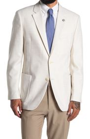 NAUTICA White Structured Two Button Notch Lapel Sp