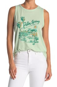 LUCKY BRAND Palm Springs Muscle Tank