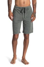 LUCKY BRAND Burnout French Terry Drawstring Shorts