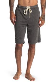 LUCKY BRAND Burn Out French Terry Lounge Shorts