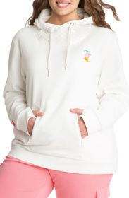 JUICY COUTURE French Terry Hoodie with Face Mask (