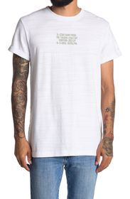 G-STAR RAW Chest Text Graphic T-Shirt