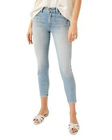 7 For All Mankind - High Waist Cropped Skinny Jean