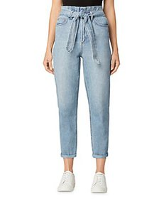 Joe's Jeans - The Brinkley Belted Cropped Straight