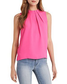 VINCE CAMUTO - Luxe Woven Tank