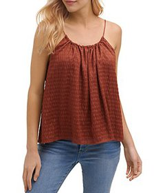 DKNY - Ruched Textured Camisole Top