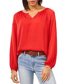VINCE CAMUTO - Rumpled Peasant Blouse