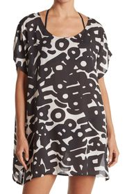 ECHO Abstract Printed Blouse