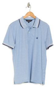 BROOKS BROTHERS Tipped Pique Knit Supima Cotton Po