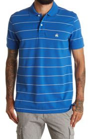 BROOKS BROTHERS Striped Slim Fit Polo