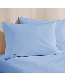 Lacoste - Percale Solid Bedding Collection