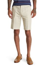 BROOKS BROTHERS Linen Blend Chino Shorts