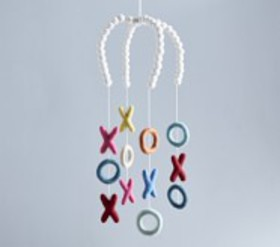 Pottery Barn XOXO Felted Ceiling Mobile