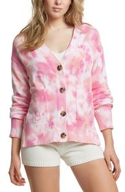 JUICY COUTURE CHUNKY CROPPED CARDIGAN