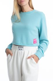JUICY COUTURE BOXY PULLOVER WITH PATCH