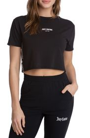 JUICY COUTURE LOGO PATCH CORE TEE