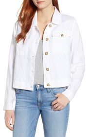 TOMMY BAHAMA Two Palms Cropped Linen Jacket