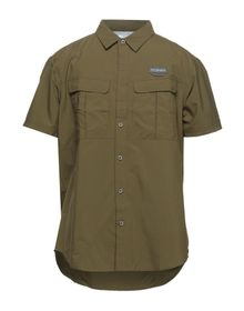 COLUMBIA - Solid color shirt