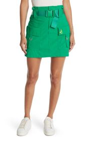JUICY COUTURE Belted Cargo Pocket Mini Skirt