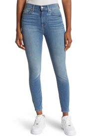 7 FOR ALL MANKIND Gwen High Waist Ankle Crop Jeans