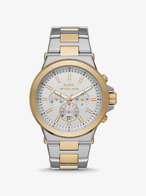 Michael Kors Oversized Dylan Two-Tone Watch