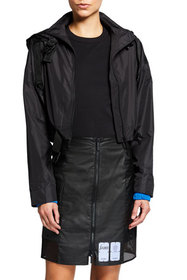 MCQ Zip-Front Shell Track Jacket