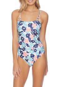 SPLENDID Room To Bloom Floral One-Piece Swimsuit