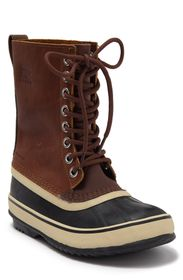 SOREL 1964 Leather Lace-Up Duck Boot