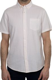 SLATE AND STONE Button-Down Collar Short Sleeve St