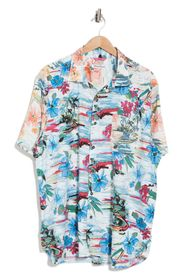 TOMMY BAHAMA Sunblocked Cove Button Front Shirt