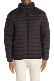 HAWKE AND CO Hooded Packable Down Jacket
