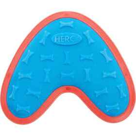 Hero Outer Armor Boomerang Dog Toy - Large in Blue