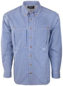 Drake Waterfowl Systems Gingham Plaid Wingshooter'