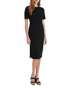 VINCE CAMUTO - Ribbed Knit Dress