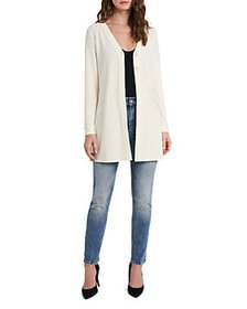 VINCE CAMUTO - Ribbed Long Cardigan
